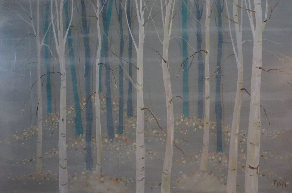 Aspens in Dream