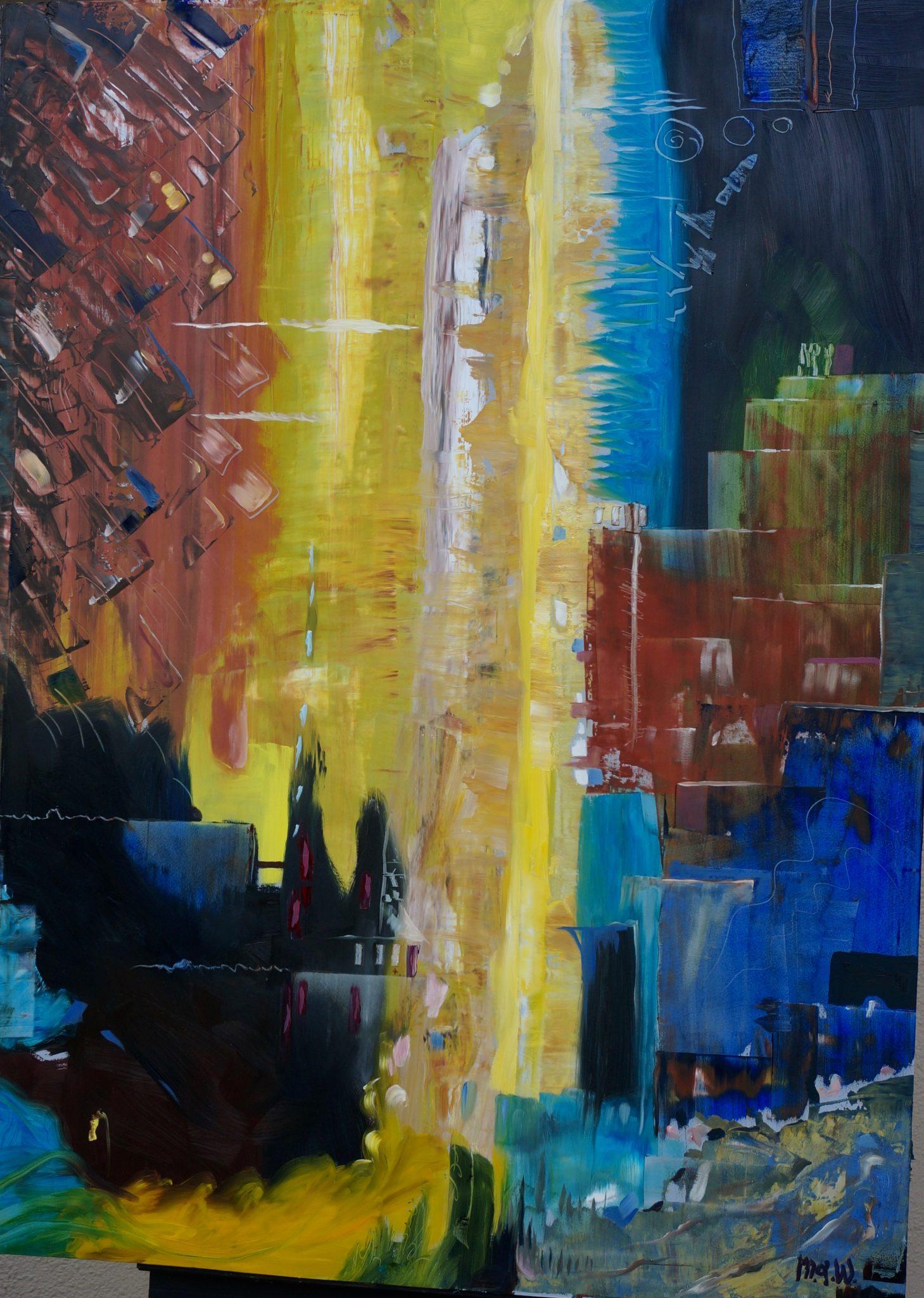 drag painting methods original oil paintings by michael a wilson